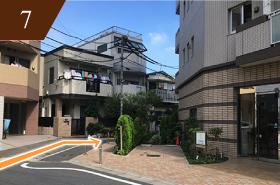 妊活 マタニティマッサージ 西新井駅からの道7