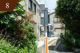 妊活 マタニティマッサージ 西新井駅からの道8